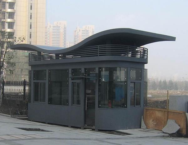 艺术钢结构岗亭